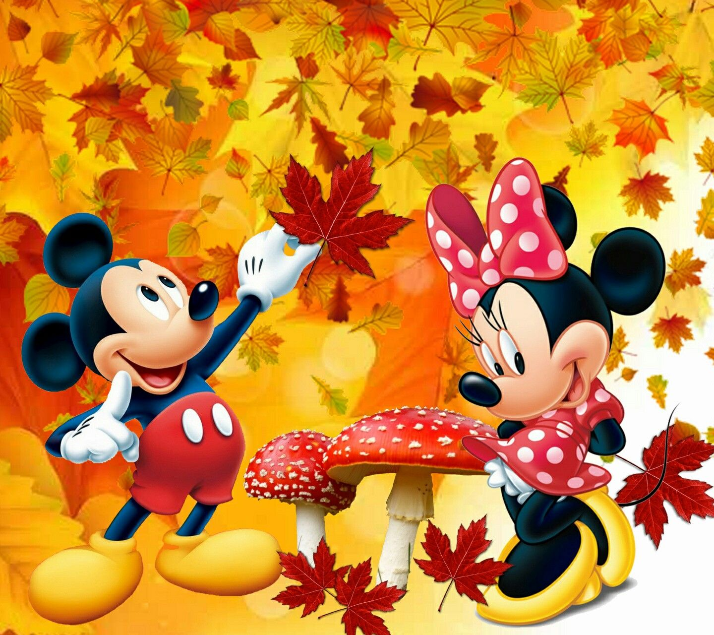 Mickey Mouse Fall Decorations