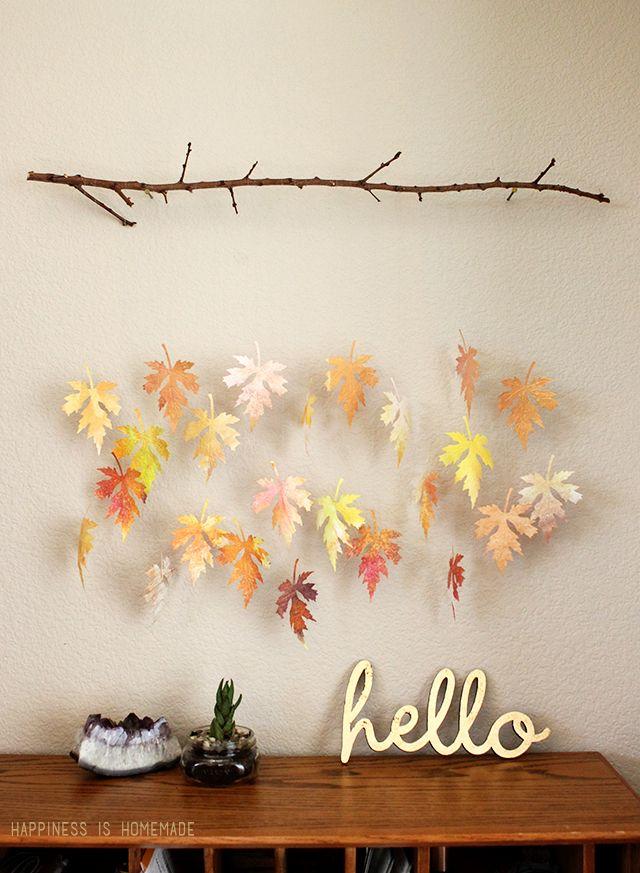 Paper DIY Fall Decor