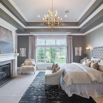 Tray Ceiling Bedroom