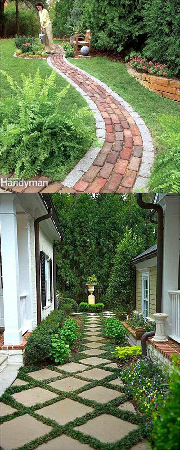 Pathway Ideas For Backyard