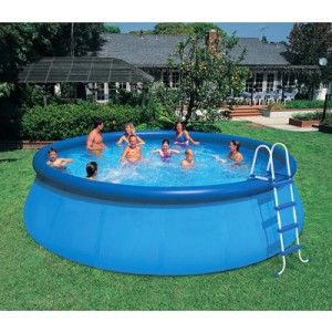 Backyard Blow Up Pool