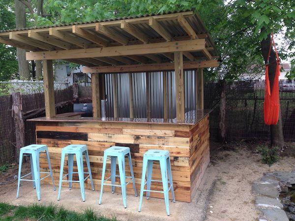 Backyard Outdoor Bar Ideas