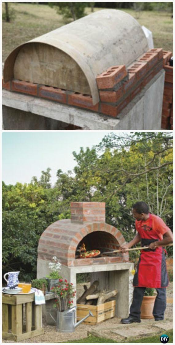 Outdoor Pizza Oven DIY