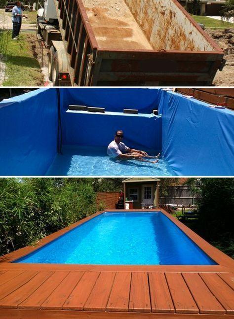 Easy DIY Swimming Pool