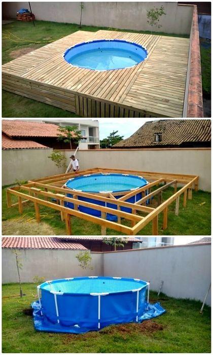 Low Budget DIY Swimming Pool