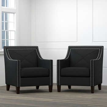 Black Living Room Chair
