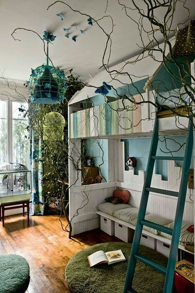Nature Themed Bedroom